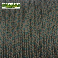 Nano Cord - 0.75mm x 300 Feet (100m) of Nano Paracord - Woodland Camo